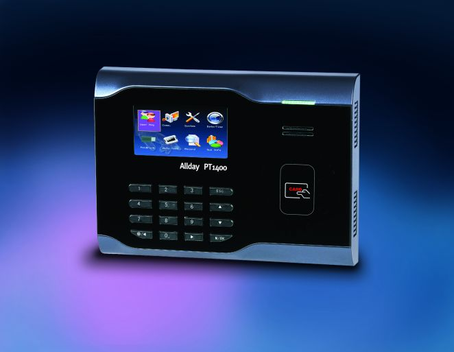 Time and Attendance card reader