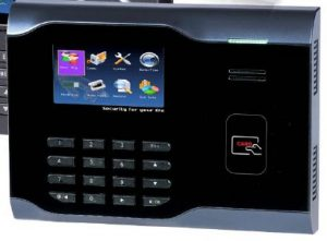 RFID Terminal for Time and Attendance